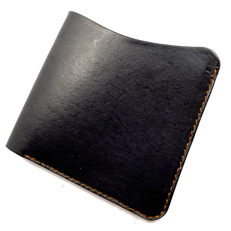Sporty 2016 nordic style short wallet wallet men and women without a card bit simple thin leather cowhide