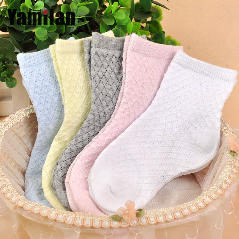 Spring and summer children socks baby socks thin section cotton breathable mesh relent baby socks children socks for men and women