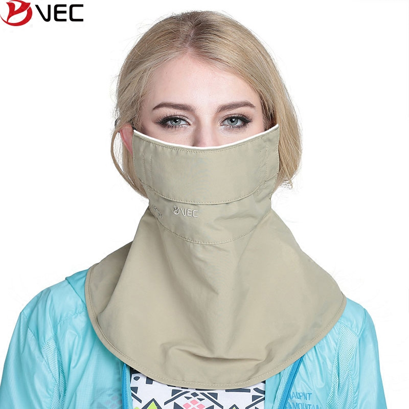 Spring and summer ms. windproof breathable uv sunscreen masks neck protection masks riding mask visor VKZ-666