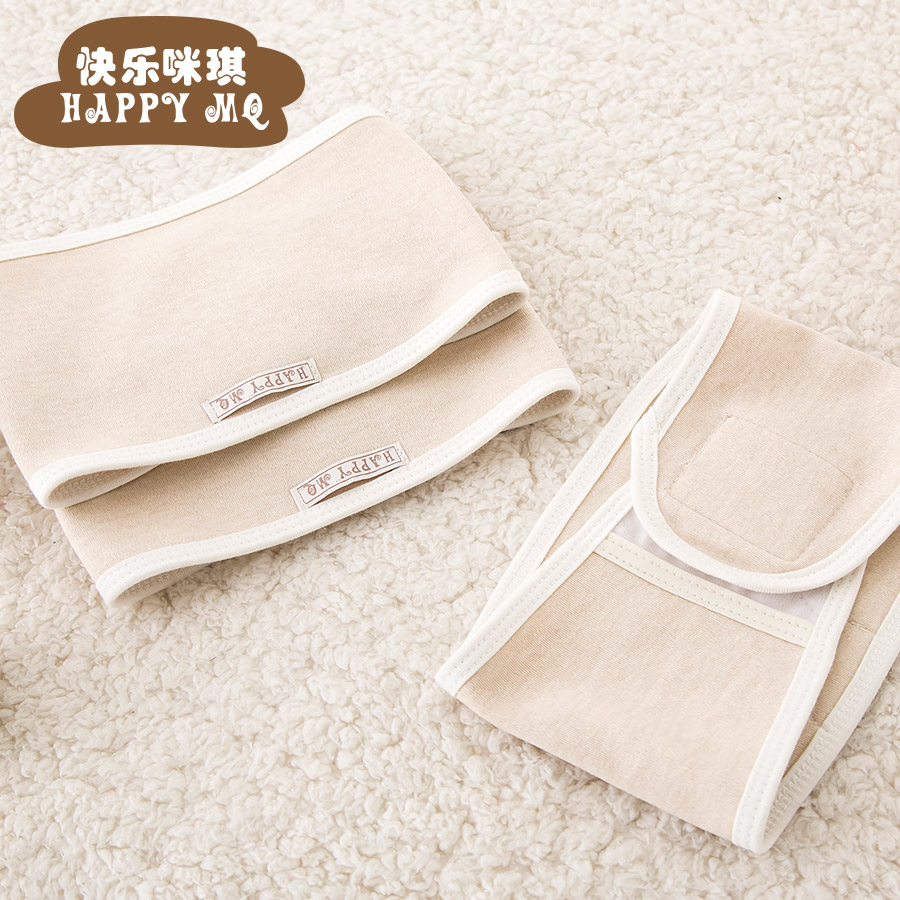 Spring and summer organic cotton baby belly circumference cotton umbilical cord care abdominal circumference newborn baby care navel baby care umbilical cord