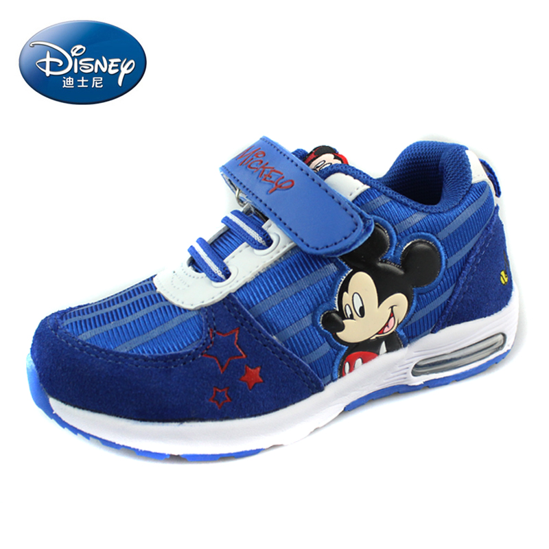Spring on the new disney children's shoes for boys and girls sports shoes lightweight casual shoes for children in child sports shoes