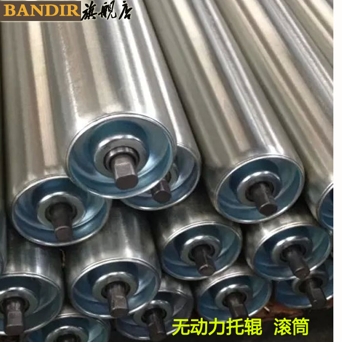 Stainless steel drum without power drum roller galvanized roller drum roller drum lines copolyether