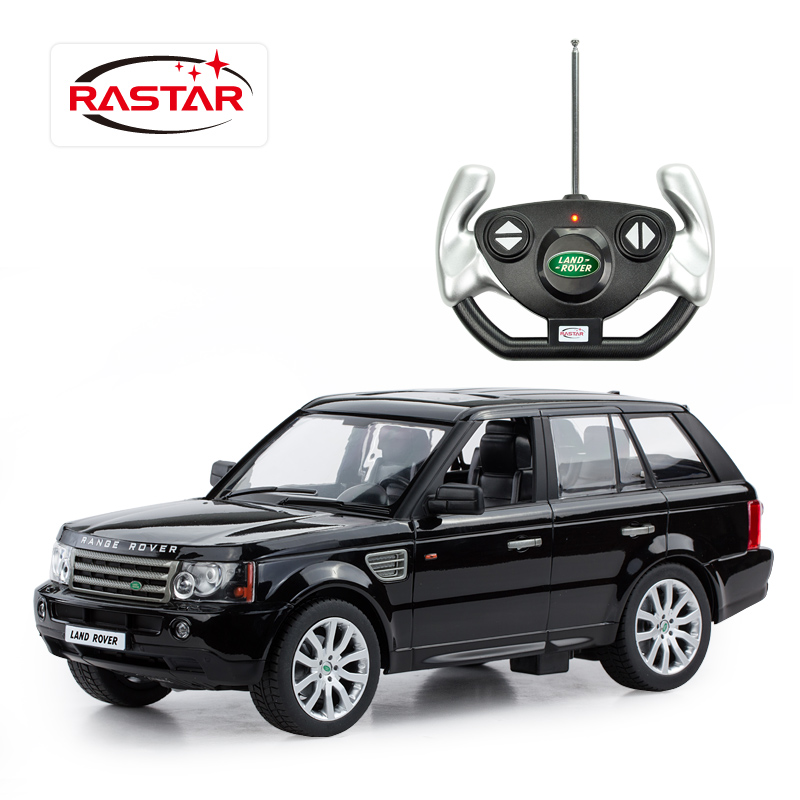 Star car model land rover range rover remote control car simulation of electric remote control car boy toy cars for children 1:14100