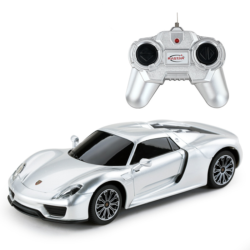 Star cars rastar porsche car remote control car charging boy toy car children's fashion 1:242014