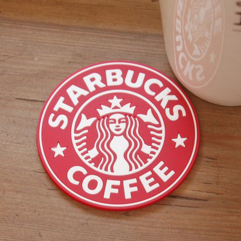 Starbucks style cup mat cup mat insulation pad creative coaster slip silicone coasters coasters insulation against heat pad