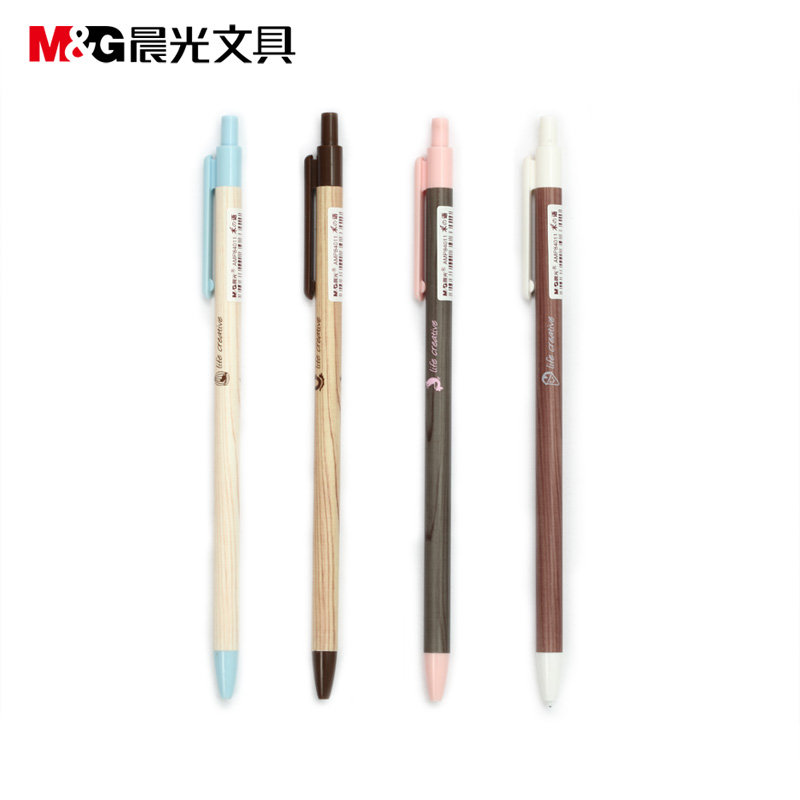 Stationery dawn automatic pencil wood language amp84011 creative cute pencil automatic pencil 0.5