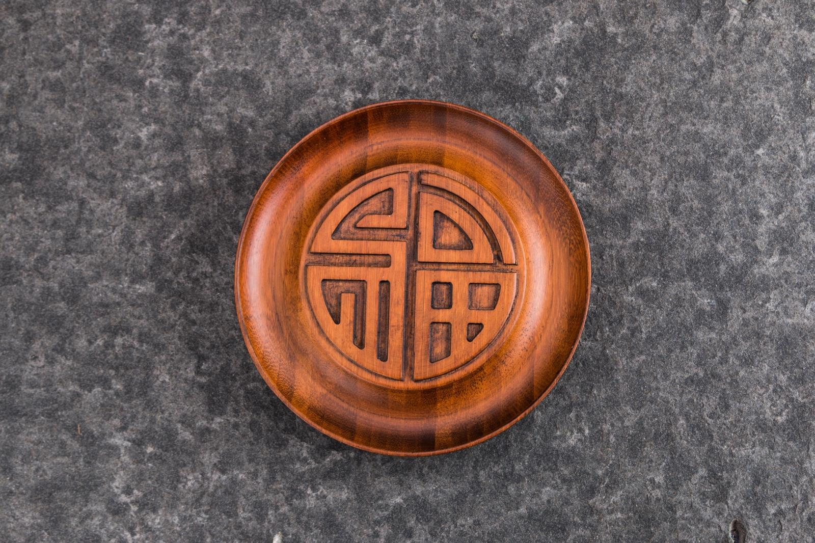 Stayed cheng pot dry tea tray bamboo bamboo tea tray kung fu tea small tea tray tea accessories tea bong fu cheng