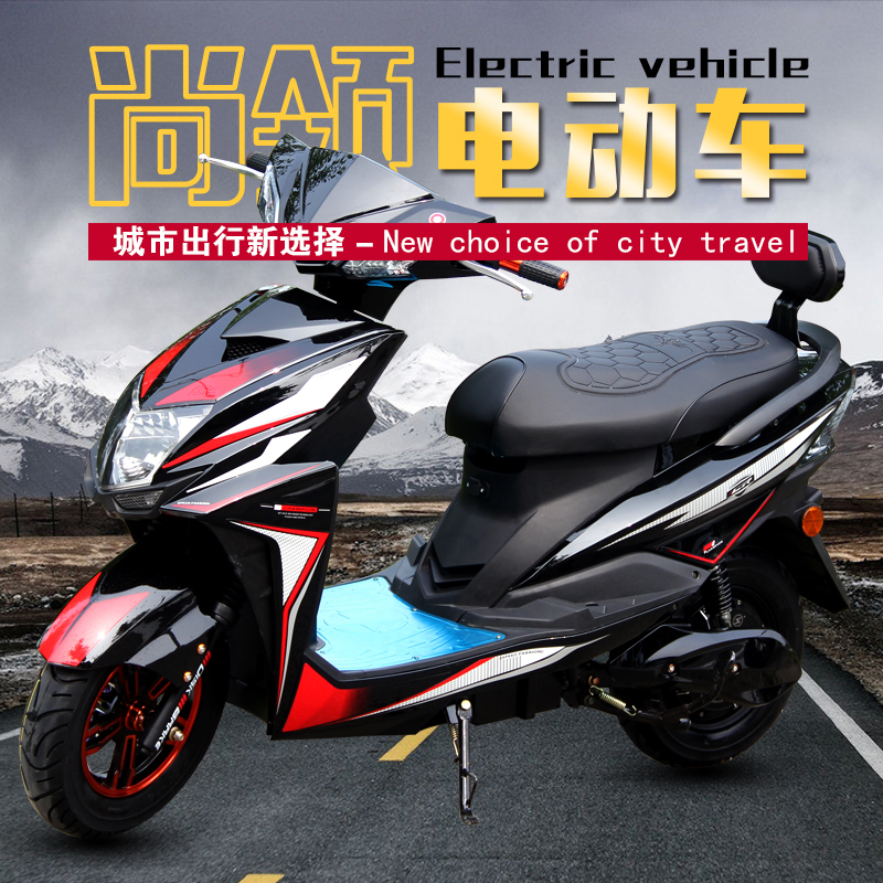 富尔欣still receive thunder king electric car electric motorcycle adult genuine double electric bike scooter