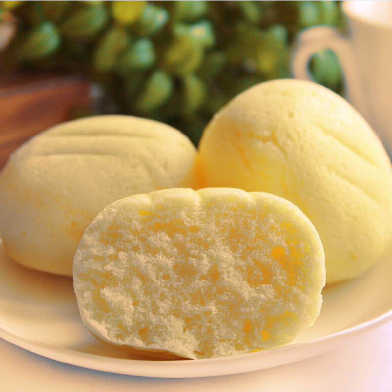 Stocking fresh steamed milk cake steamed egg cake flavor breakfast g delicious not get angry