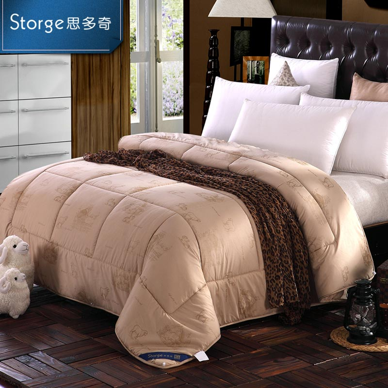 Storge/si duoqi inner mongolia wool quilt thick warm winter is the core spring fall and winter are the seasons