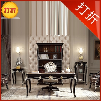 Striking furniture american wood tables and chairs combination of european sales office desk chair combination can be customized bl188