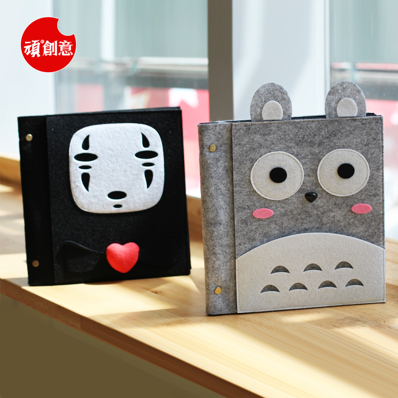 Stubborn creative chinchillas faceless male handmade diy album polaroid album album pasted film album album korea