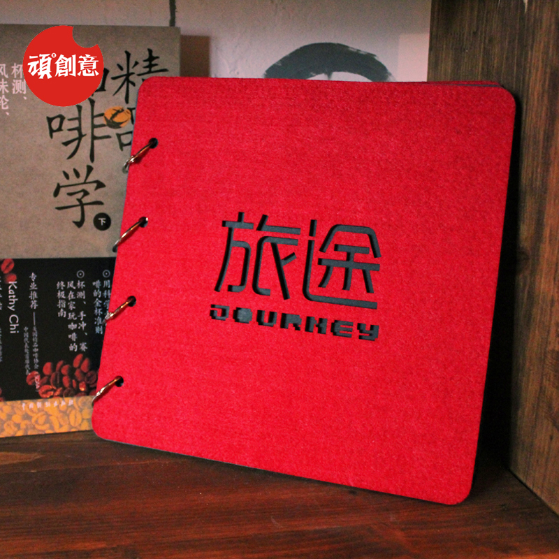 [Stubborn] creative journey theme album binder album album diy handmade korean creative and practical small gifts