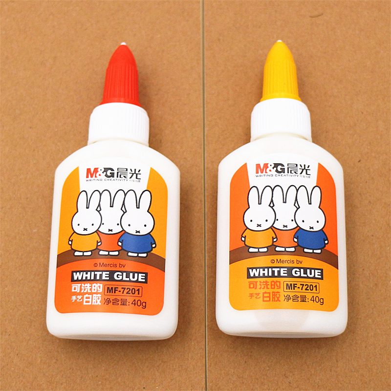 Student stationery dawn miffy mf7201 manual white plastic 40g nontoxic glue can be washed by hand