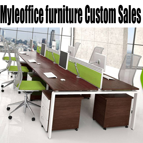 Stylish minimalist office furniture factory staff office furniture 4 digit combination screen work stations off the deck