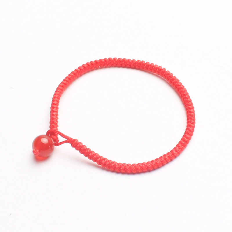 Such as david jewelry natal red string bracelet hand rope diamond knot simple birthday gift male and female models baby models