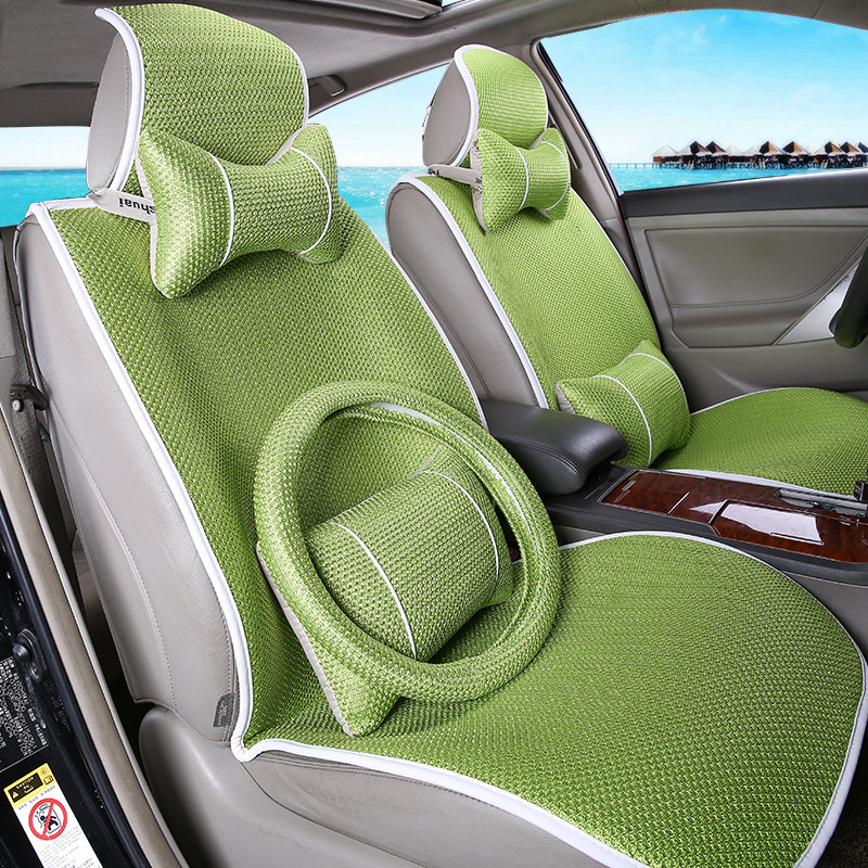 Get Quotations Car Seat Cushion Four Seasons Ice Silk Tie Free Great