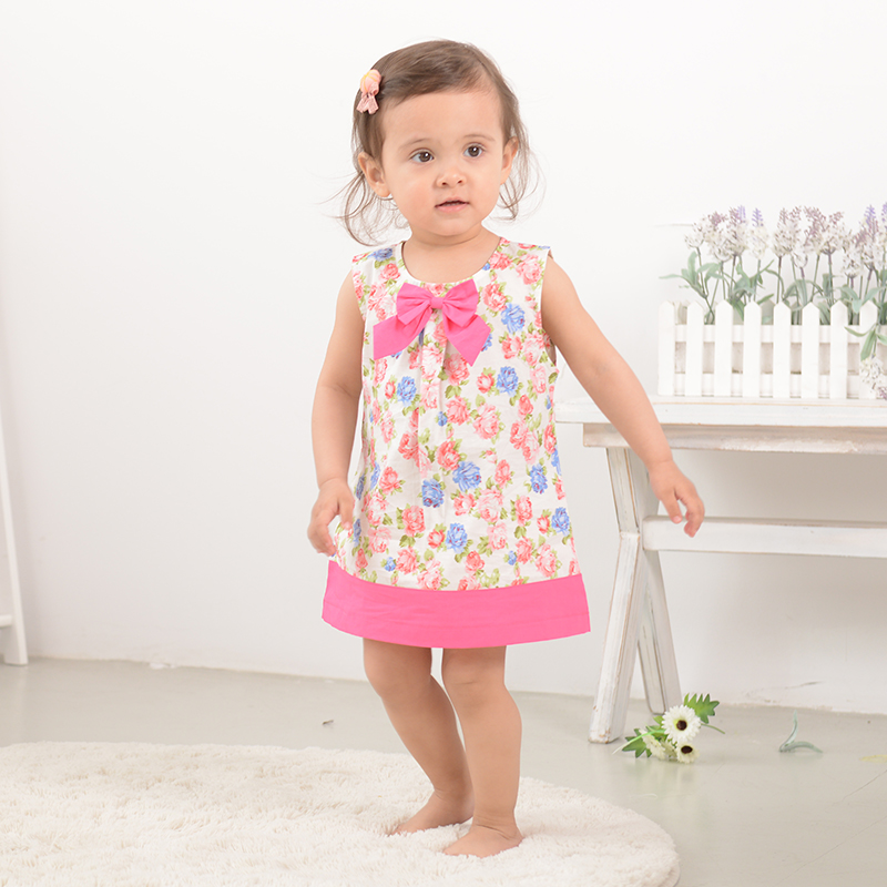Summer infant skirt 0-1-year-old 2-3-year-old female baby girls summer dress female vest skirt dress princess dress sook