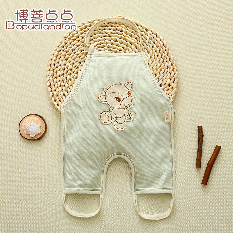 Summer thin section cotton apron summer infant baby apron apron cotton summer children new spring and summer cotton newborn belly bib