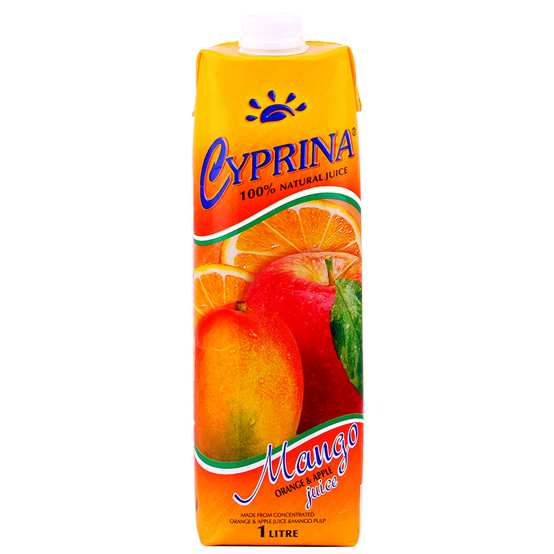 [Supermarket] lynx cyprus cyprus lina imported brand mango orange apple juice mixed 1l