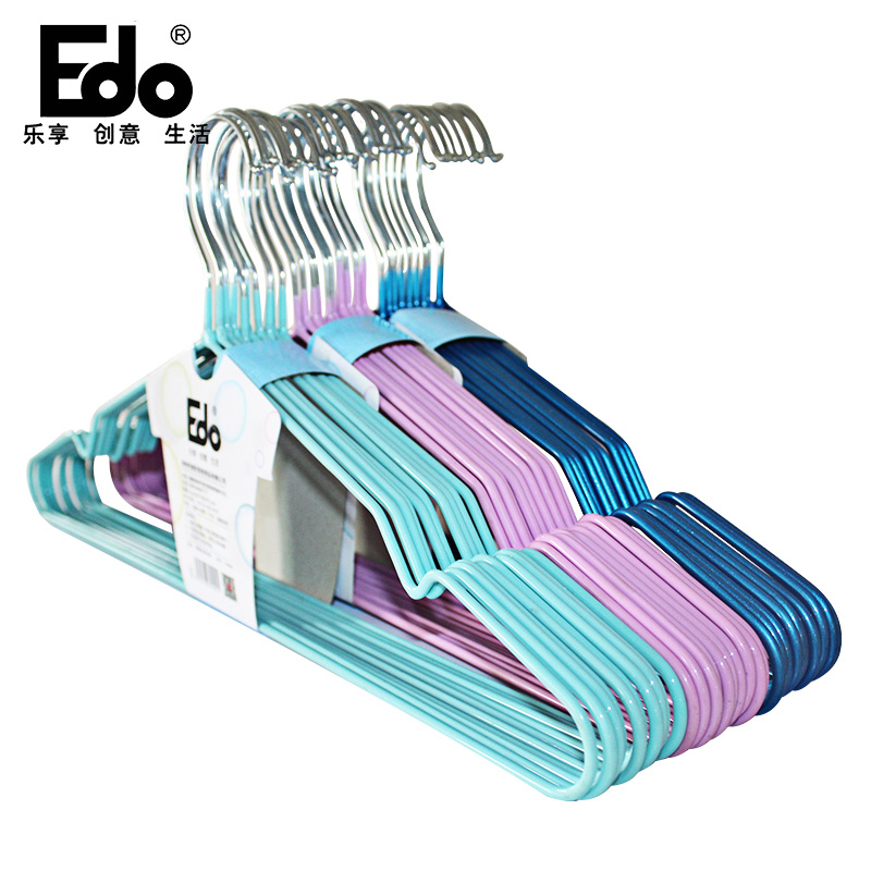 [Supermarket] lynx EDO10 100åªgroove slip trouser rack clothing racks for hanging clothes hatrack random color