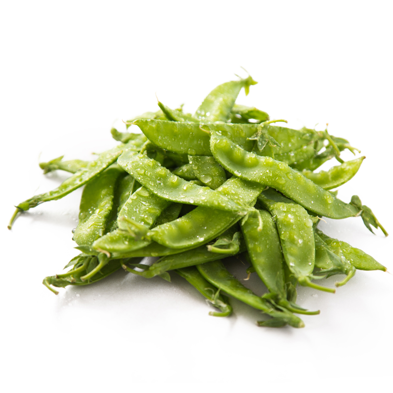[Supermarket] lynx featured snow peas 300g pepper fresh vegetables 16:00 single cut
