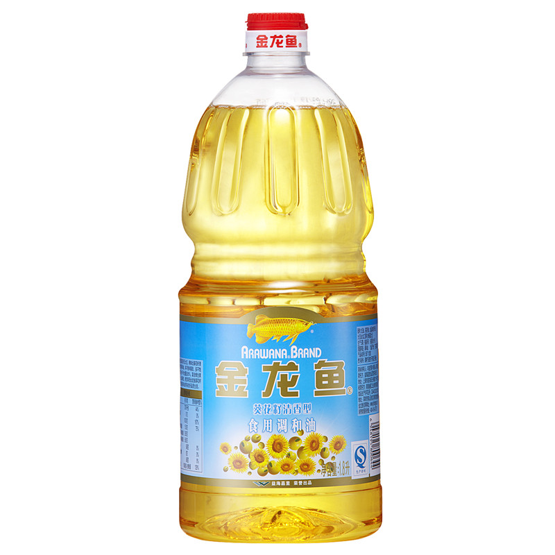 [Supermarket] lynx fen arowana sunflower edible oil 1.8l/bottle of cooking oil