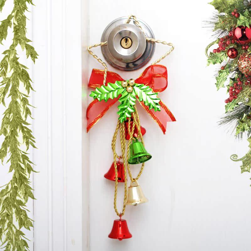 Get Quotations · Surplus Allocation Liberty Bell Bells Hanging Door Hanging  Christmas Ornaments Pentagram Pendant Mall Doorstep Storefront Metal
