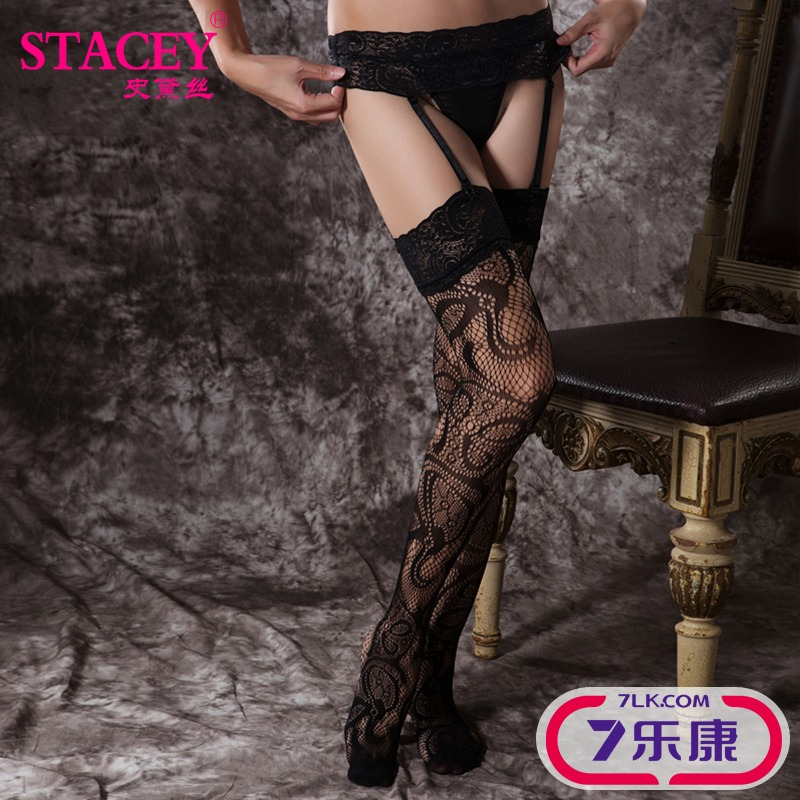 Surrounded by open crotch fishnet stockings sexy lingerie temptation to open file pantyhose high elastic stockings perspective 11112