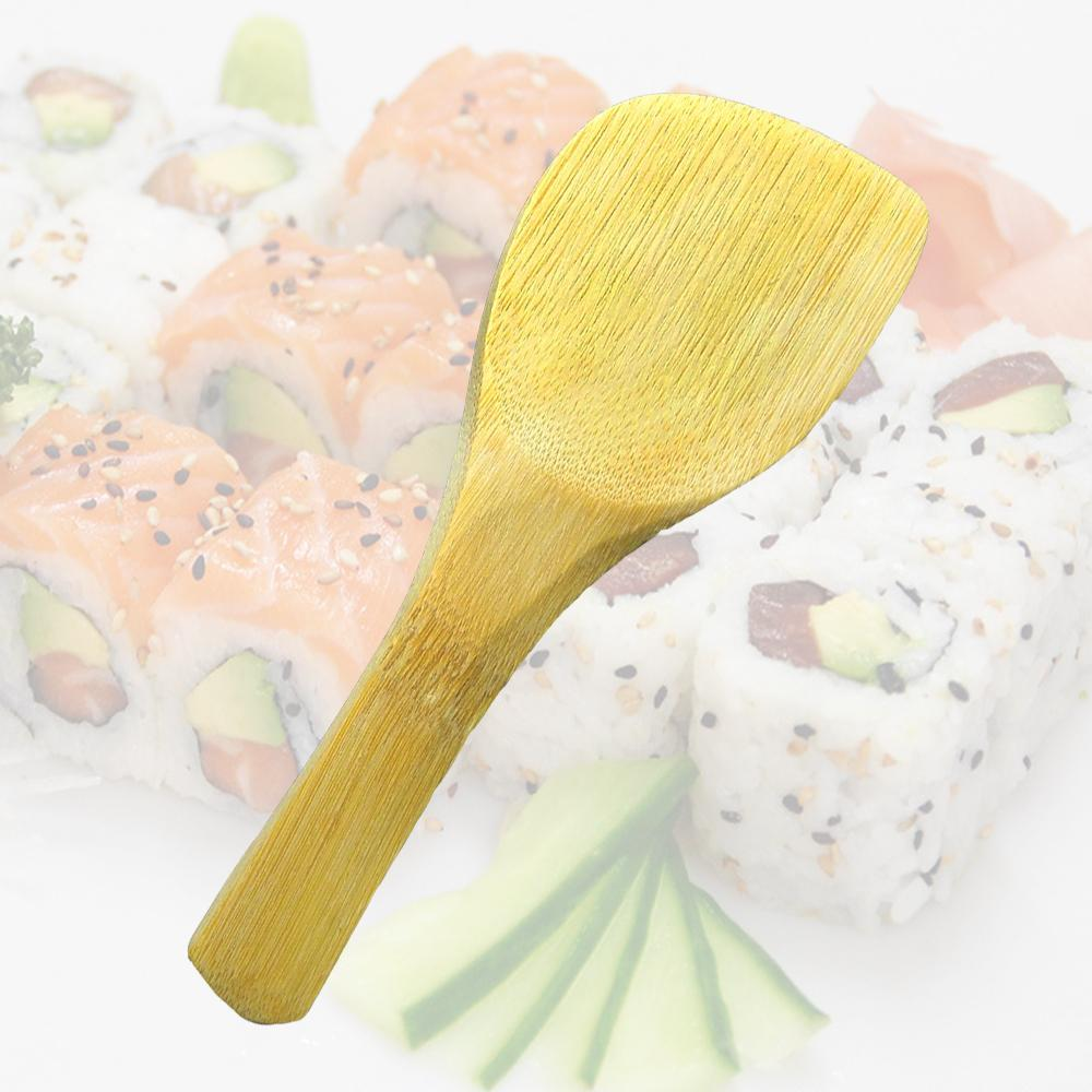 Sushi bamboo spoon/utensils sushi diy/sushi special spoon/green spoon shovel son