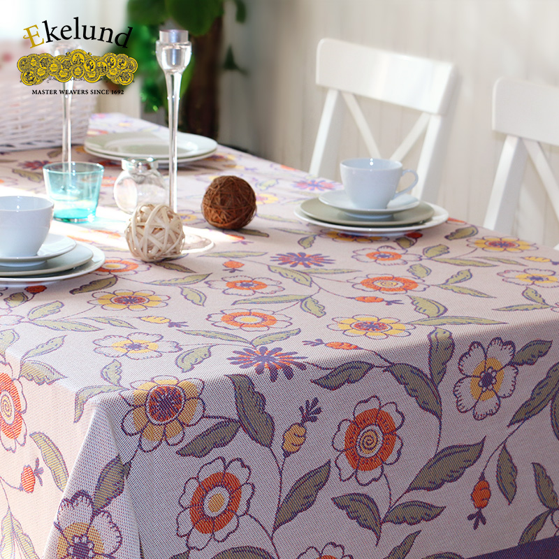 Get Quotations Swedish Ekelund Love Nichole Levin Original Design American Past Country Style Cotton Jacquard Table Cloth Tablecloth