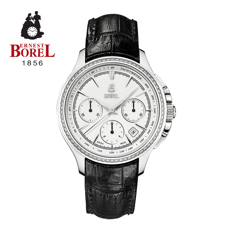 Switzerland borelæ³¢è±å°series automatic mechanical belt watch yushoukuan