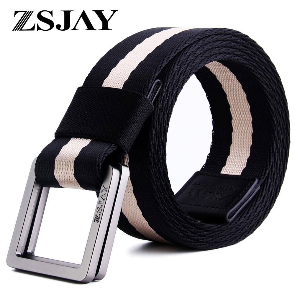 Tactical birds double loop buckle canvas belt men lengthening belt influx of big yards fat pants belt belt lengthened 150