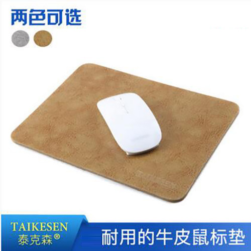 Tai kesen thick leather mouse pad computer gaming mouse pad mouse pad seasons available strange