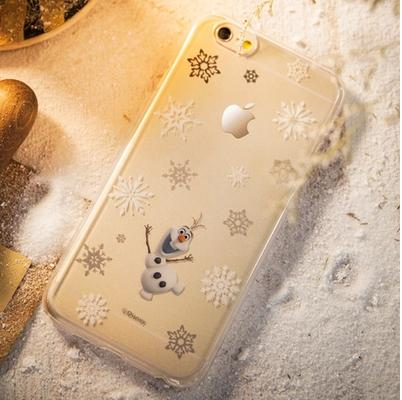 Taiwan bone 4.7 frozen frozen protective shell apple 6 iphone6 phone shell mobile phone shell protective sleeve cartoon outer shell