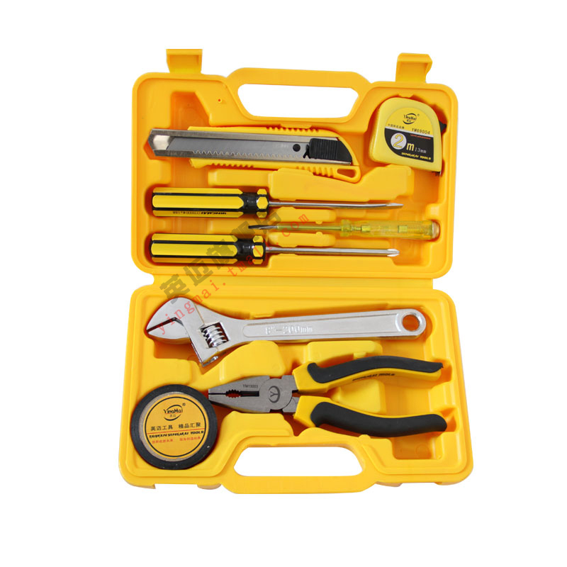Taiwan ingram tool 9 sets of household tool set household composition tool kit home essential