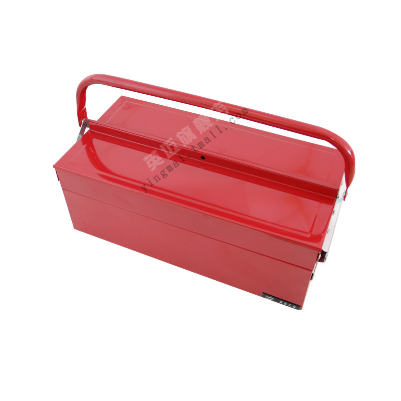 Taiwan ingram tool tipping bucket portable double metal toolbox toolbox tool box YM80125