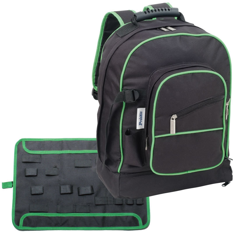 Taiwan po workers pro 'skit 9st-307 modern multipurpose tool backpack (within the tool to send a bag)