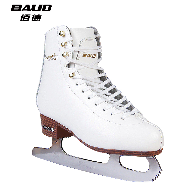 Tak bai authentic skate shoes adult children of men and women really high leather skates skating shoes skates slip