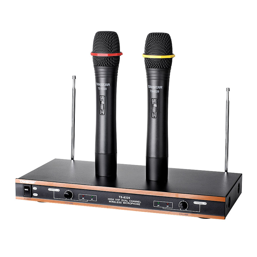 Takstar/victory ts-6320 wireless microphone wireless microphone karaoke ok ktv stage performances dedicated