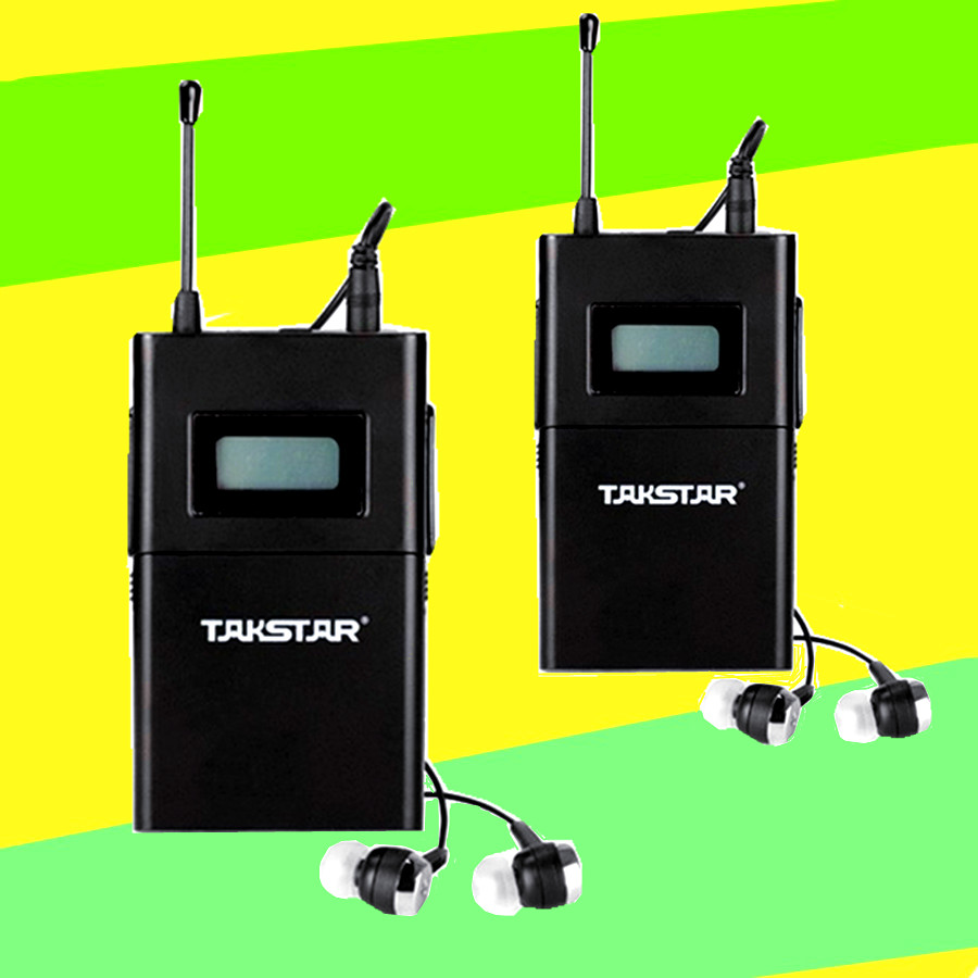 Takstar/victory wpm-200 wireless headphones ear headphones stage foldback single reception