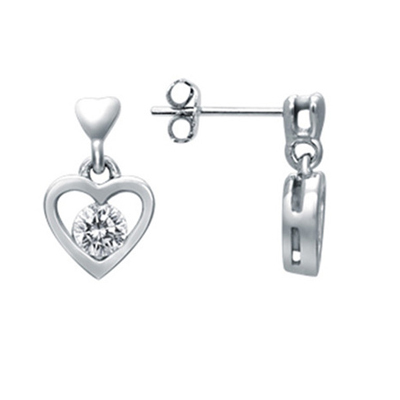 Tang autumn 10 points pt950 platinum diamond earrings earrings jewelry hanging love to buy one pair of earrings earrings or a single 1410