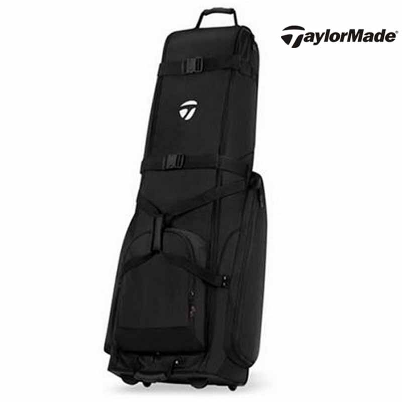 Taylormade taylormade golf aviation package aircraft checked bag easy to use rollers