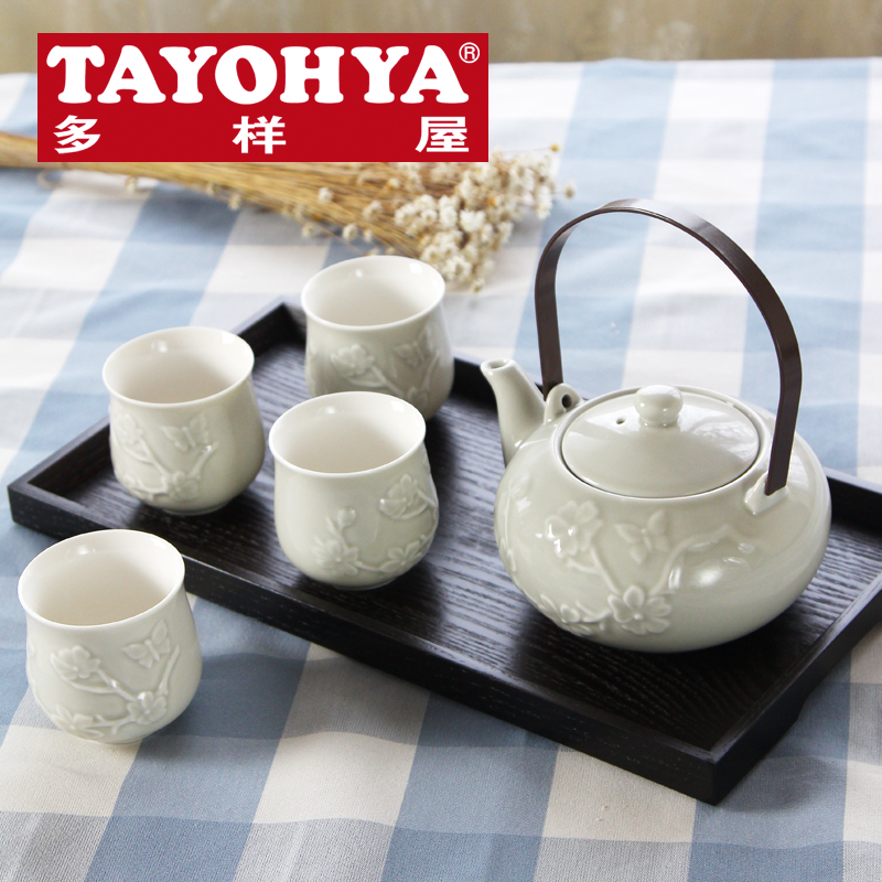 Tayohya diverse housing minimalist celebrities binaural tea tray tray tray handmade pattern rendering