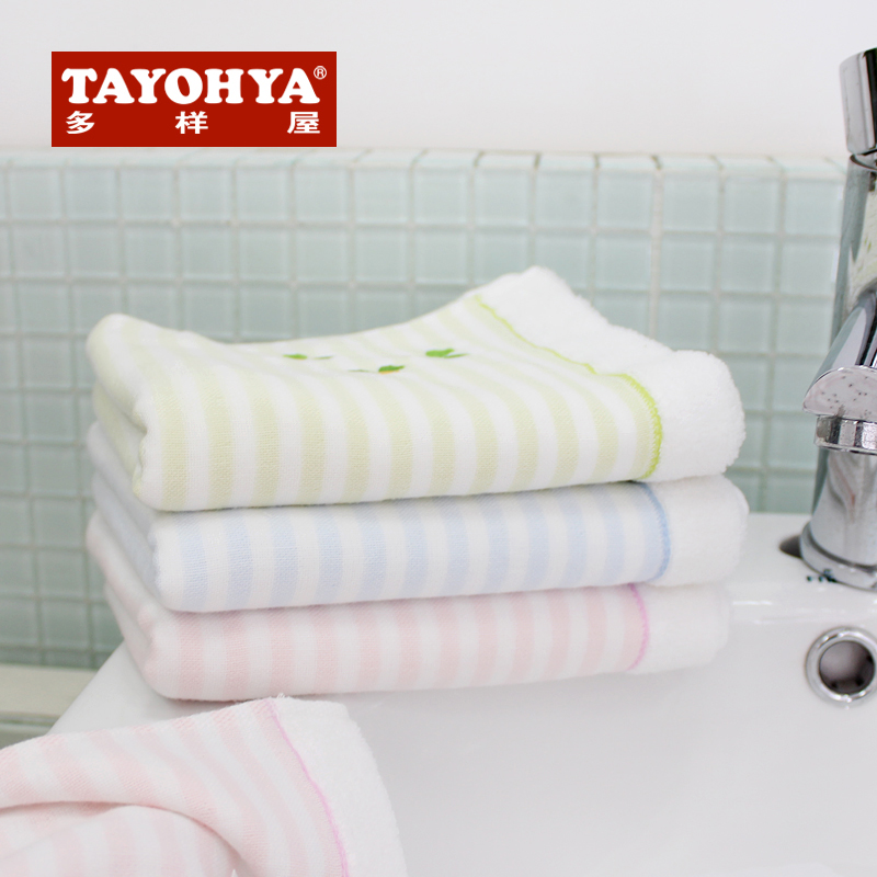 Tayohya diverse housing new playful soft cotton gauze towel children towel face towel double thick