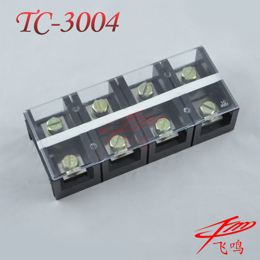 TC-3004 300a/p temperature high current copper terminals terminal block wiring board connector
