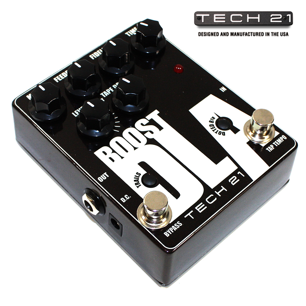 Tech21 tech 21 dlatt dla boost analog delay stompbox