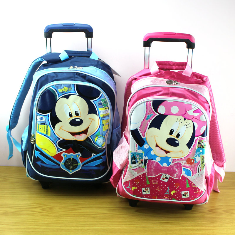 Tft disney trolley bags detachable backpack cute cartoon boys and girls students shoulder the burden DB9009