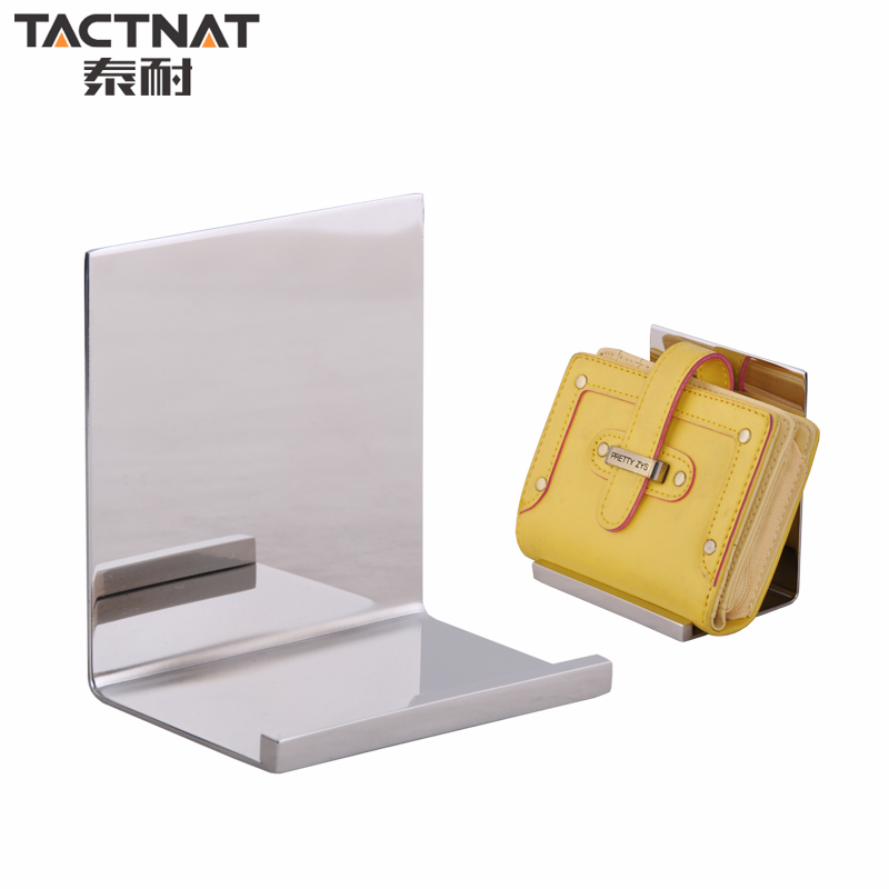 Thai resistant stainless steel multifunction hiswallet luggage leather wallet display counter display rack display props bag