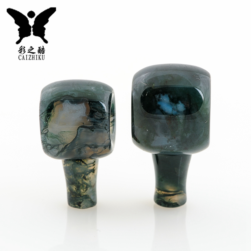 The cool color-natural india waterweeds agates tibetan buddha head tee king pu tizi xingyue diy accessories